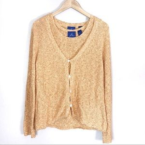 JH Collectibles Cardigan and Shell